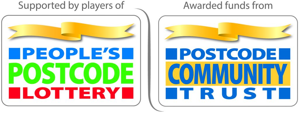 People's Postcode Lottery and Postcode Community Trust logos